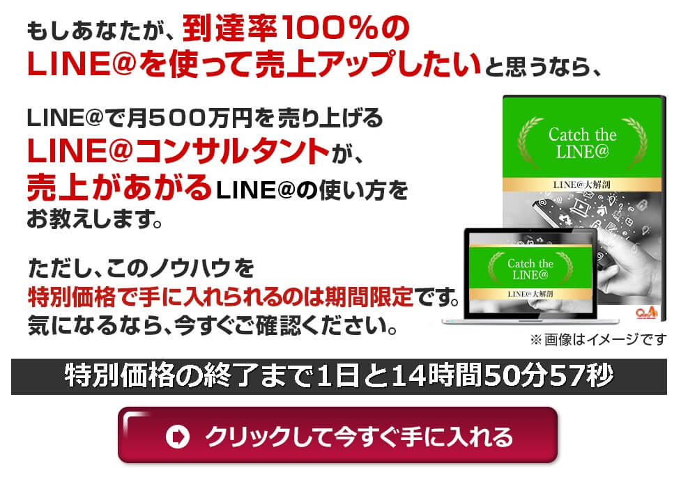 Catch the LINEの教材