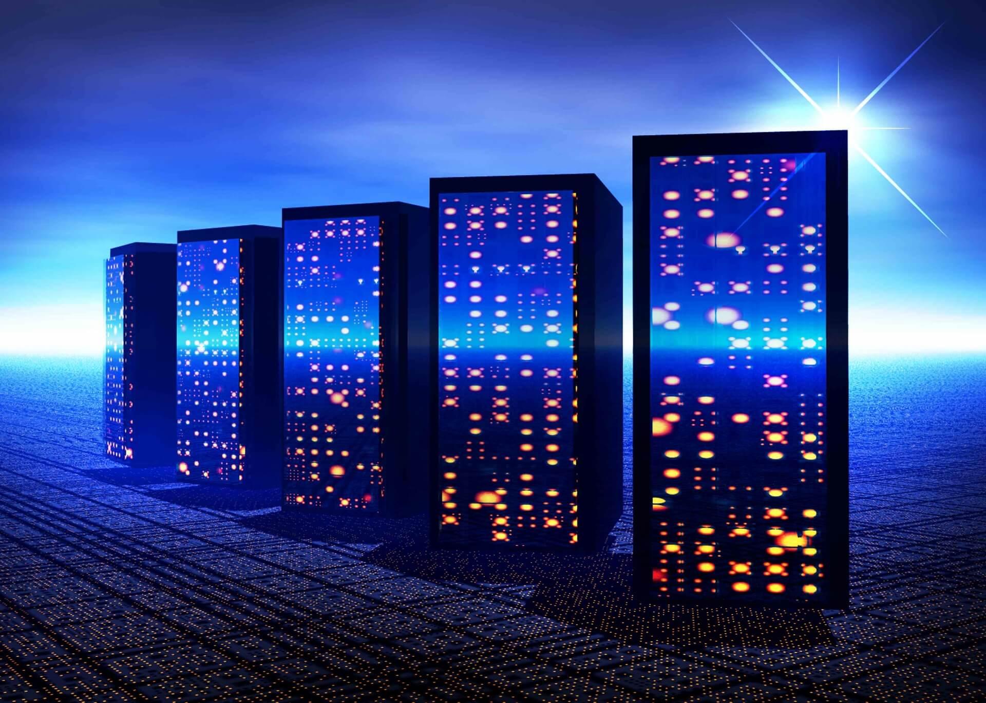 エキスパ メール配信システムのサーバー